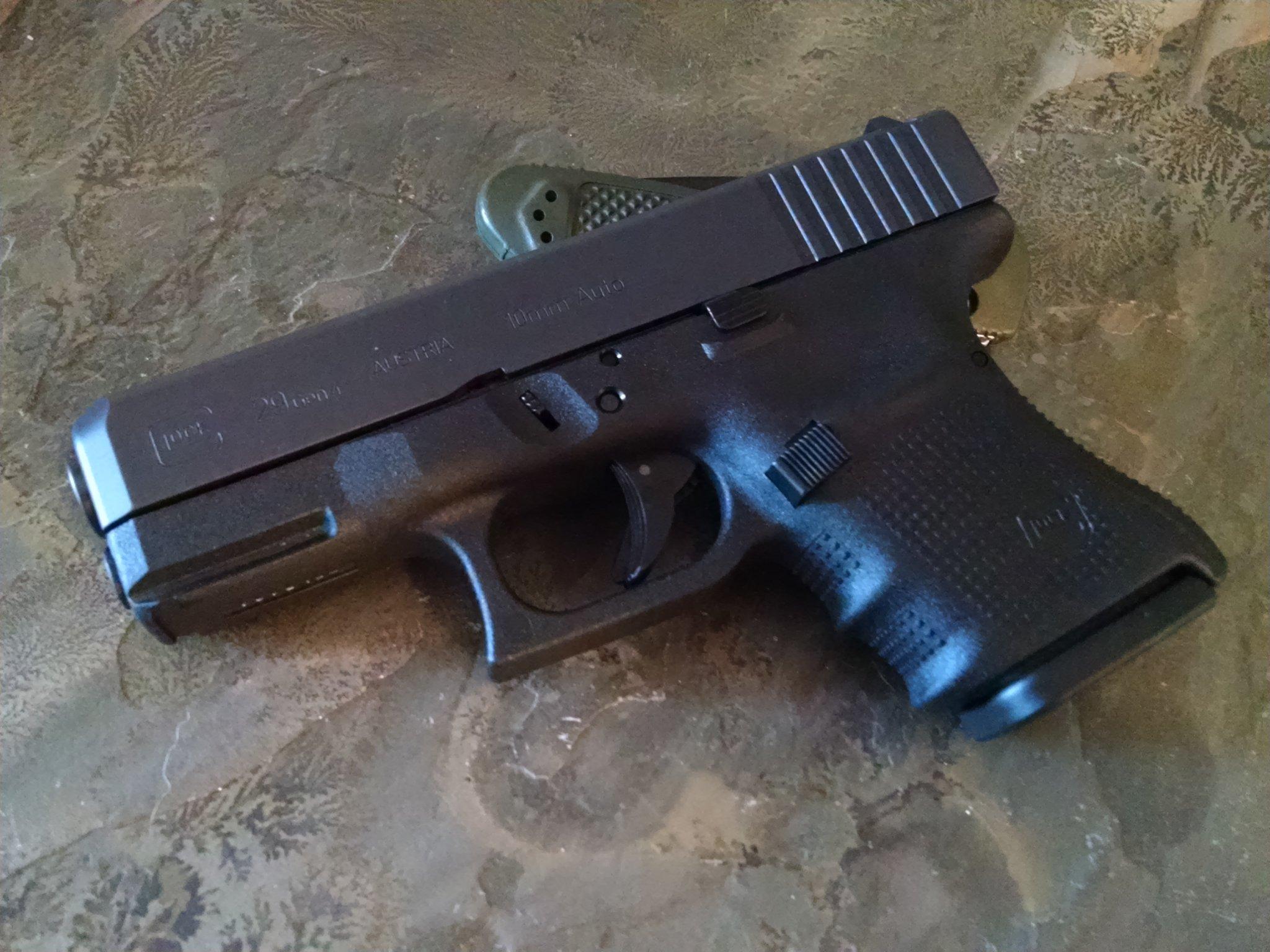 New gun: Glock G29 Gen 4 10mm | Christian Forums