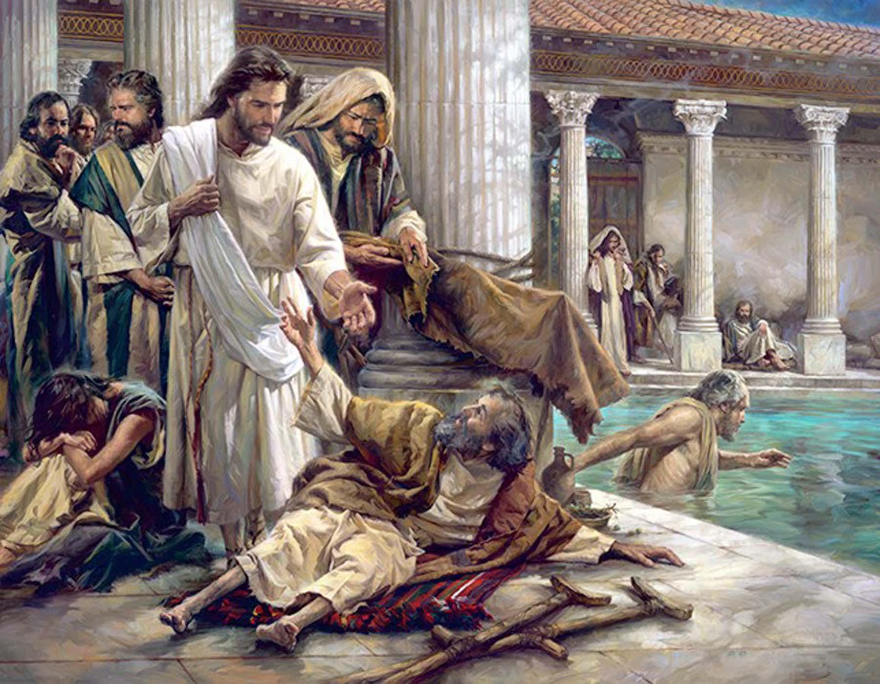 John 51 15 A Man Healed