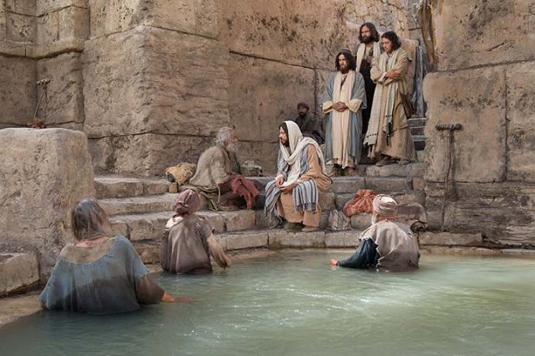 Miraculous catch of fish by jesus christ - 1 6