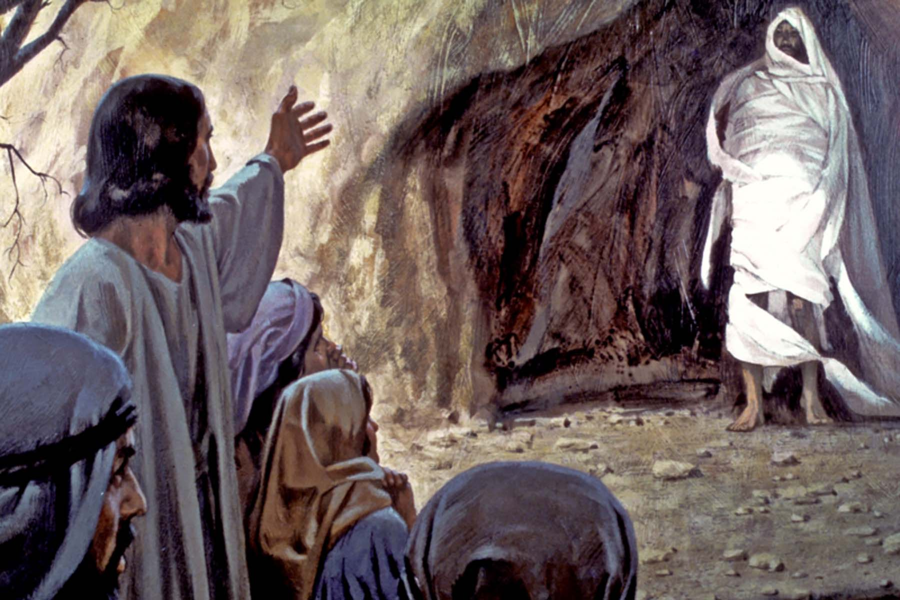 Jesus Raises Lazarus From The Dead In Bethany | Christian Forums