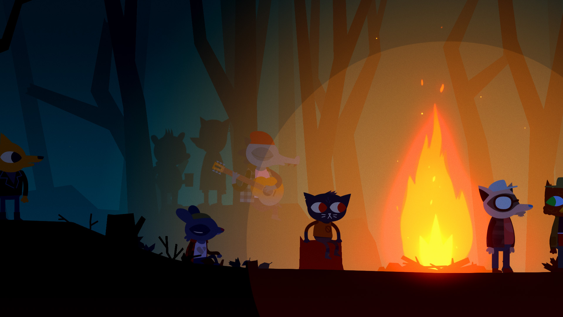 Night In The Woods Wallpaper Christian Forums