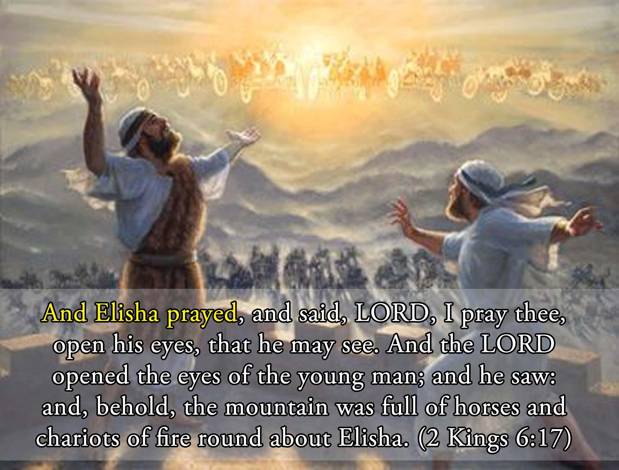 Elisha Captures The Blinded Arameans | Christian Forums