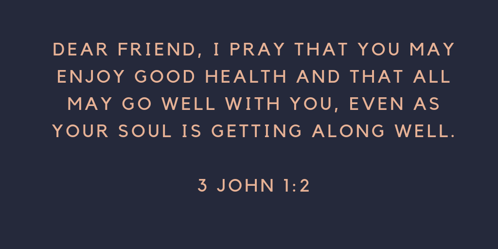 Christian I pray that you may enjoy good health.png