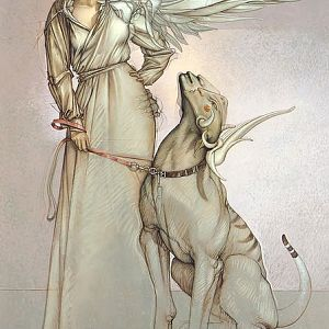 Michael Parkes - Angel and Her Pet II