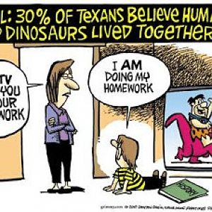 Texas Evolution and Flintstones