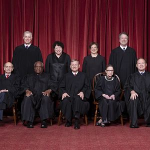 Supreme Court Group Photo - Small Version